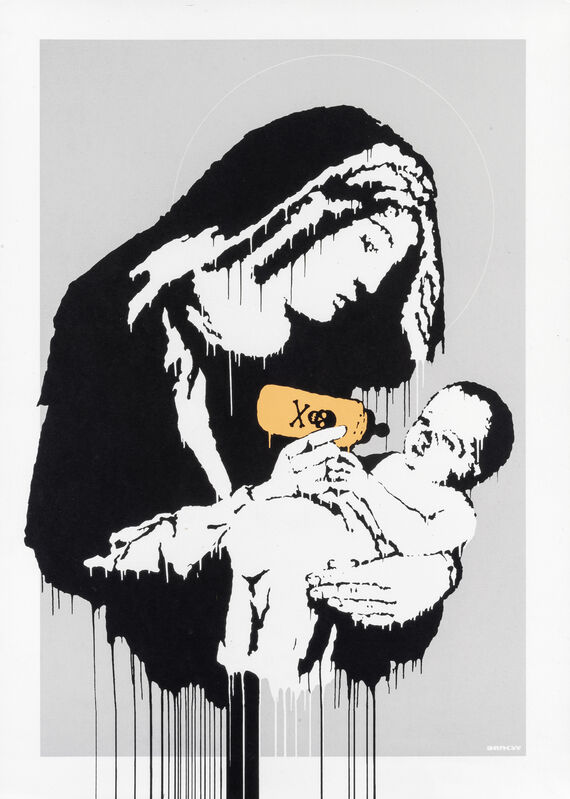 Banksy, 'Toxic Mary', 2004, Print, Screen print in colours on wove paper, Tate Ward Auctions