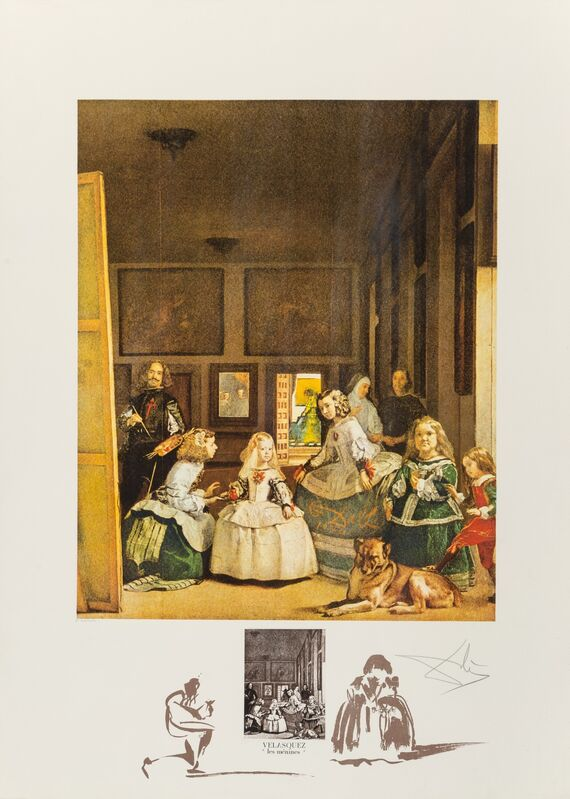 "Salvador Dalí, 'Velasquez ""Les Menines""', 1974, Print, Lithograph in colors on Rives BFK paper, Heritage Auctions"