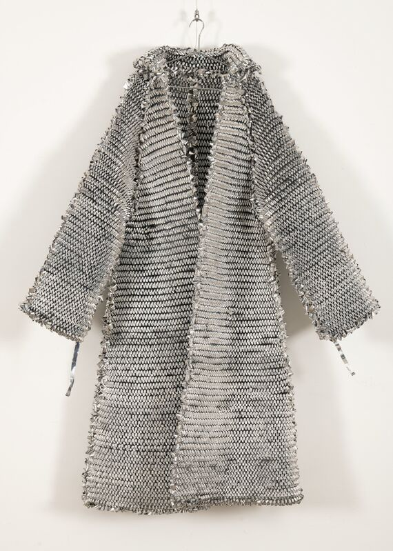 Oliver Herring, 'Untitled (Mylar Coat)', Fashion Design and Wearable Art, Knit silver Mylar, Heritage Auctions