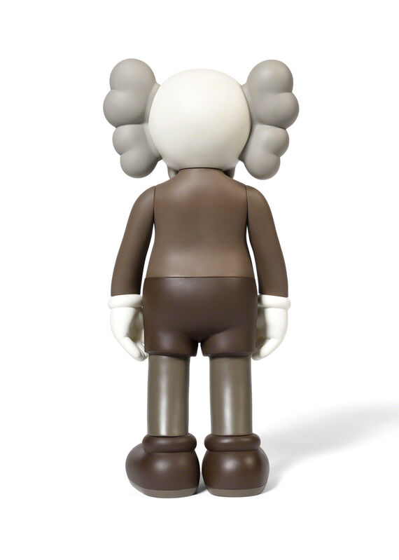KAWS, 'FIVE YEARS LATER COMPANION (Brown)', 2004, Sculpture, Painted cast vinyl, DIGARD AUCTION