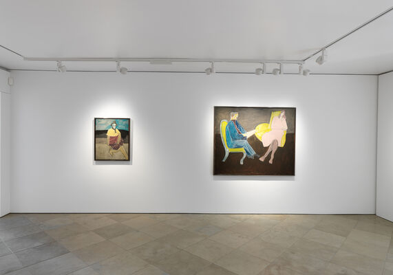 Milton Avery: The Late Portraits, installation view