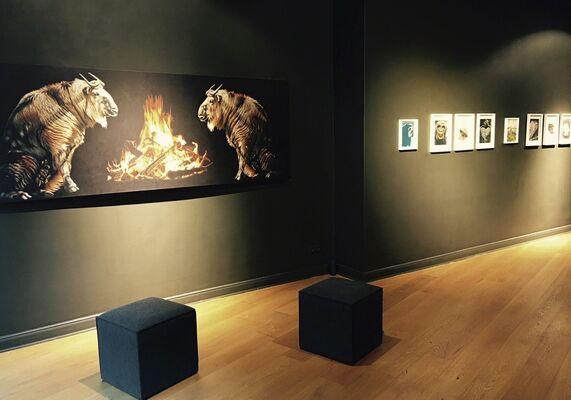 Svenja Maaß – Polylemma, installation view