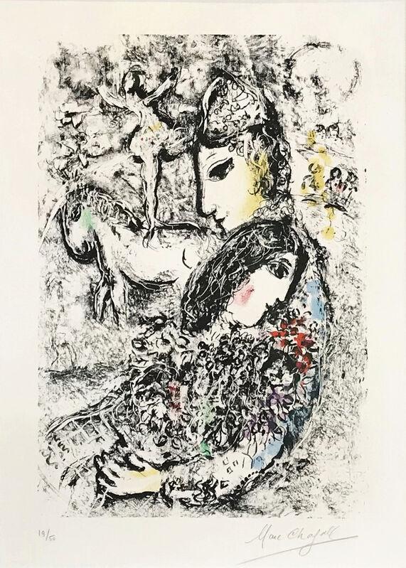 Marc Chagall, 'Les Enchanteurs', 1969, Print, Colour lithograph, Odon Wagner Gallery