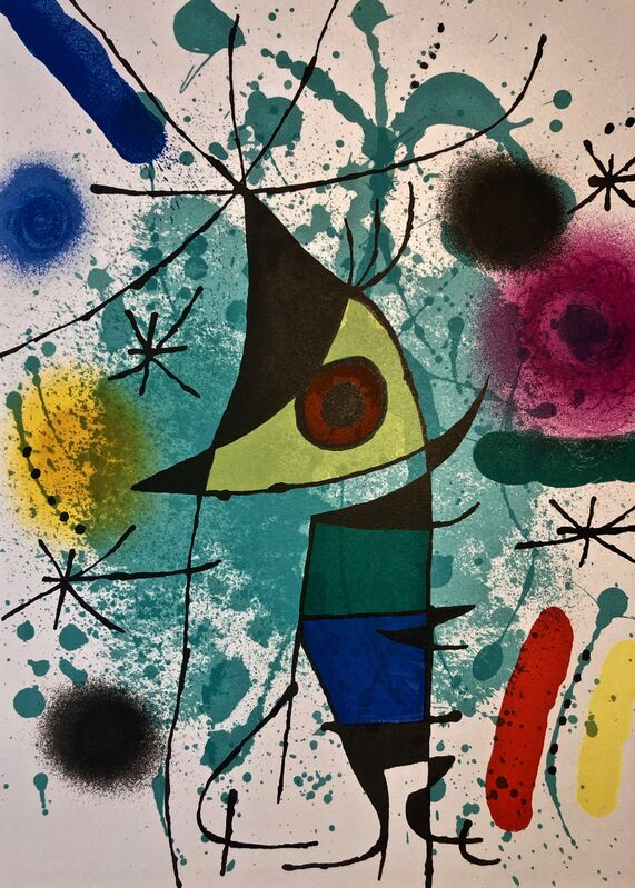 Joan Miró, 'Original Lithograph XI', 1972, Print, Original Lithograph, Inviere Gallery