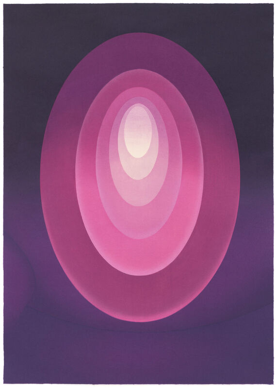 James Turrell, 'From Aten Reign ', 2015, Print, Ukiyo-e Japanese style woodcut with relief printing, Pace Prints