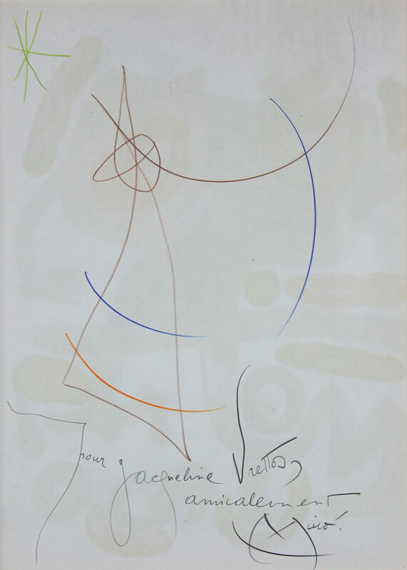 Joan Miró, 'Untitled', 1893-1983, Drawing, Collage or other Work on Paper, Mixed Media On Paper, Gormleys Fine Art
