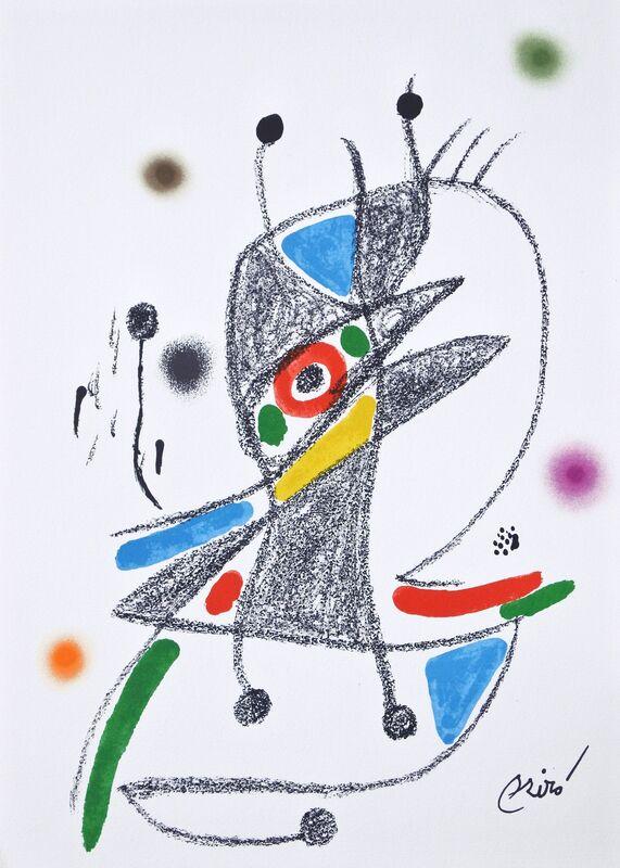 Joan Miró, 'Maravilla 2', 1975, Print, ColorLithograph, Hans den Hollander Prints