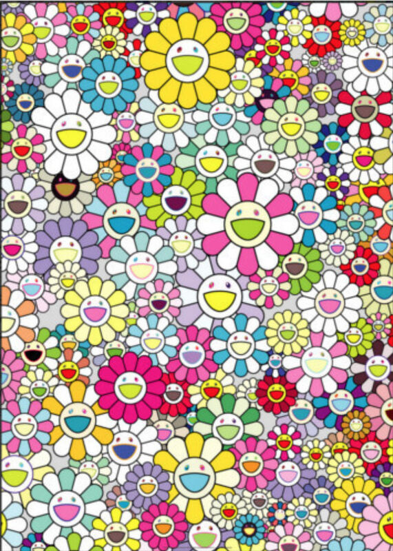 Takashi Murakami, 'SHANGRI-LA MULTICOLOR', 2018, Print, 4C offset print with cold stamp, Marcel Katz Art