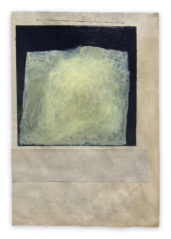 Fieroza Doorsen, 'Untitled (Id. 1283) (Abstract painting)', 2017, Painting, Oil on paper, IdeelArt