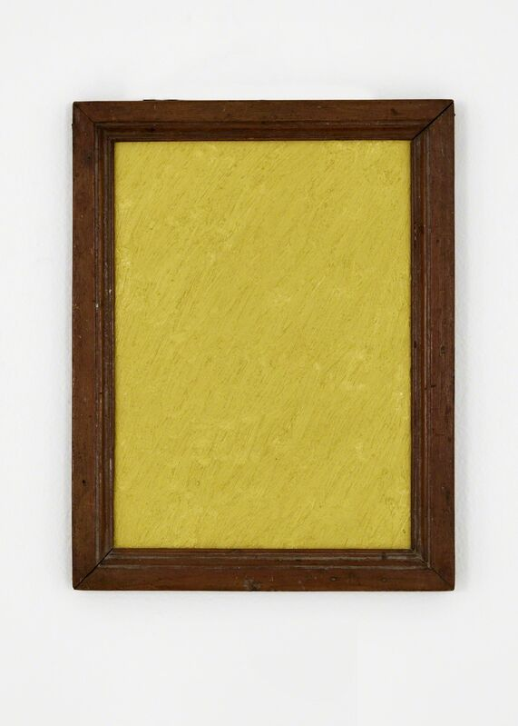 James hd Brown, 'One Color Painting #1 (Yellow)', 2019, Painting, Oil on linen, Galería Hilario Galguera
