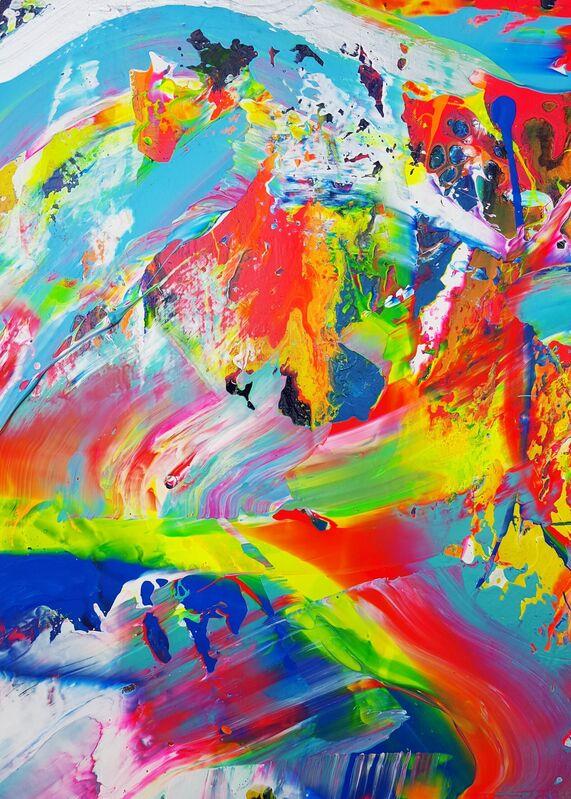 Jack Graves III, 'Tsunami Samurai', 2021, Painting, Acrylic Painting on Canvas, Graves International Art