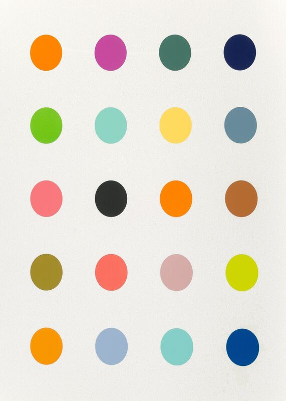 Damien Hirst, '3-Methylthymidine White', 2014, Print, Screenprint in colors with diamond dust on Somerset paper, Heritage Auctions