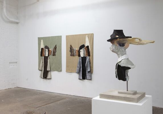 They Who Walk Behind the Rows, installation view