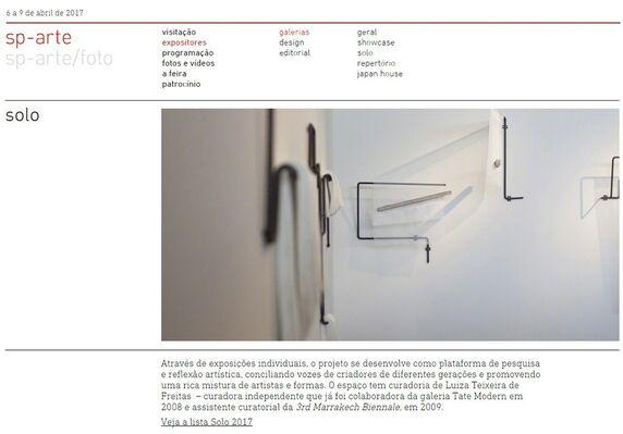 Galeria Emma Thomas at SP-Arte 2016, installation view