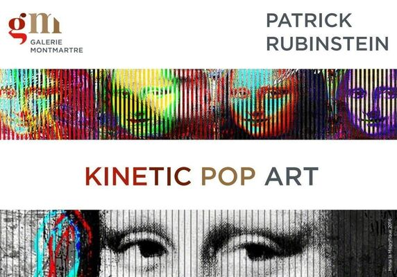 Patrick Rubinstein - Kinetic Pop Art, installation view