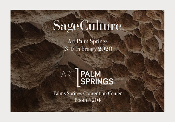Sage Culture at Art Palm Springs 2020, installation view