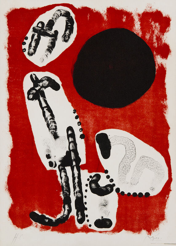 Joan Miró, 'Astrologie 1', 1960, Print, Lithography, Art Works Paris Seoul Gallery
