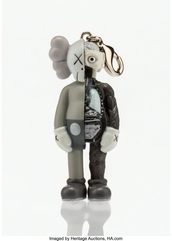 KAWS, 'Dissected Companion Keychain (Grey)', 2010, Other, Painted cast vinyl, Heritage Auctions