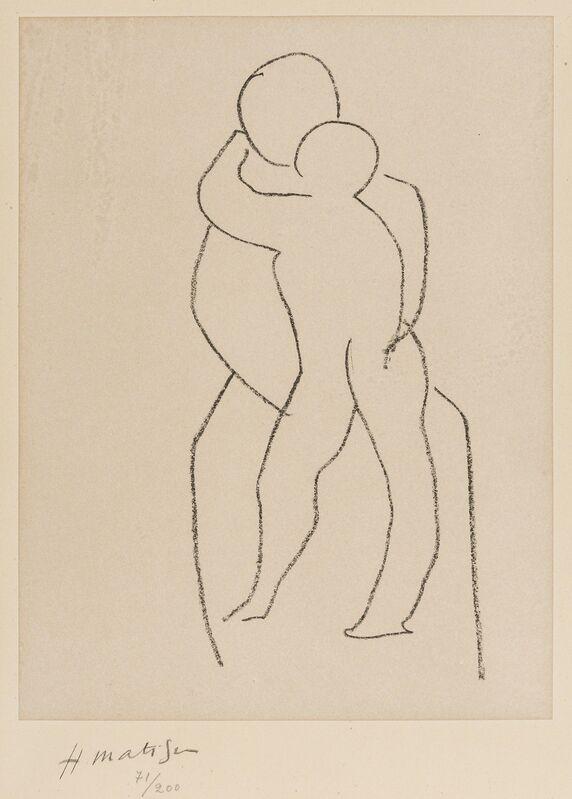 Henri Matisse, 'H. Vierge à l'enfant debout (Duthuit 650)', 1950-1951, Print, Lithograph printed in colours on Chine-applique paper, Forum Auctions