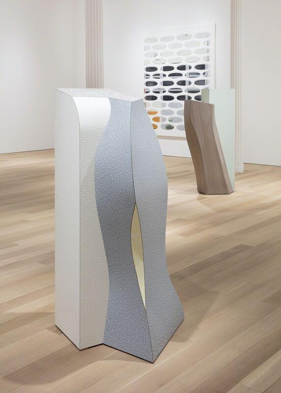 Rita McBride, 'New Marker (Cresp)', 2008, Sculpture, Abet laminate on wood, Alexander and Bonin