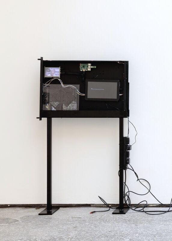 Cécile B. Evans, 'Black Box (Server Sleep)', 2015, Mixed Media, Barbara Seiler