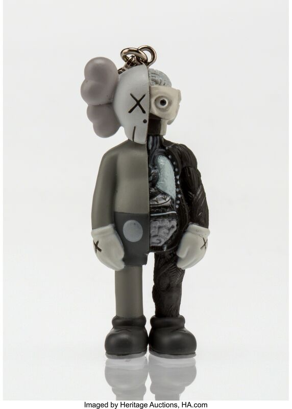 KAWS, 'Dissected Companion Keychain (Grey)', 2009, Other, Painted cast vinyl, Heritage Auctions