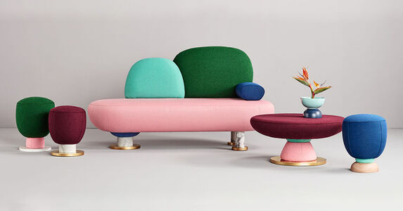 Missana, 'Toadstool Collection', 2017