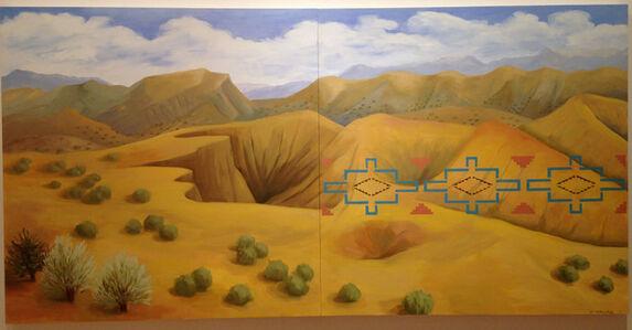 Kay WalkingStick, 'New Mexico Desert', 2011