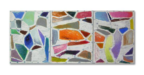 Orlin Mantchev, 'Islands (triptych)', 2019