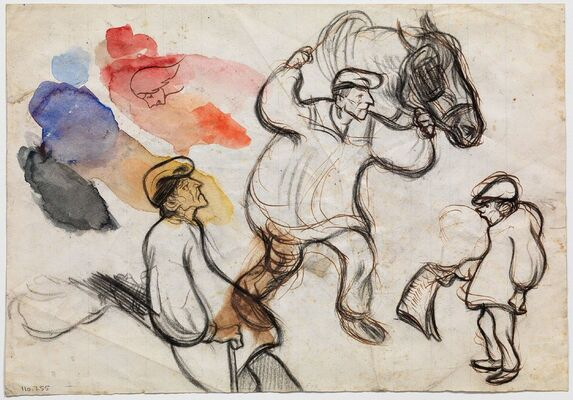 Louisiana on Paper: Picasso before Picasso, installation view