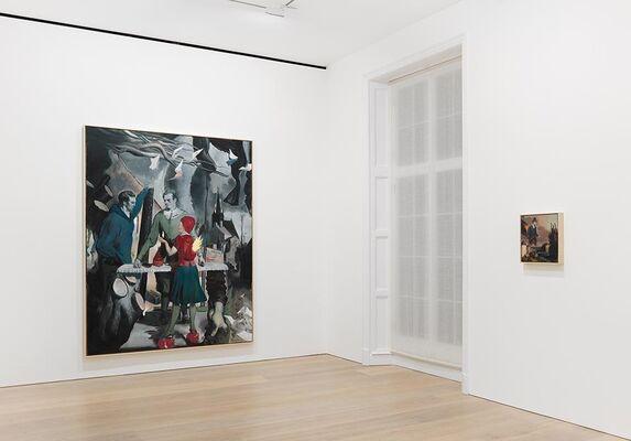Neo Rauch: Rondo, installation view