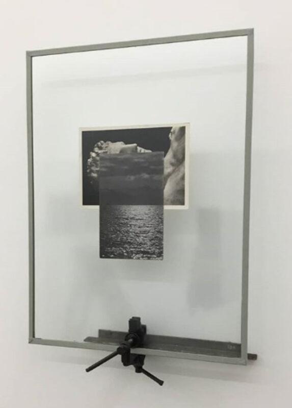 Noé Sendas, 'Resting Hermes (Morsa)', 2019, Installation, Iron, glass, acid free canvas tape, offset inks on paper, MC2Gallery