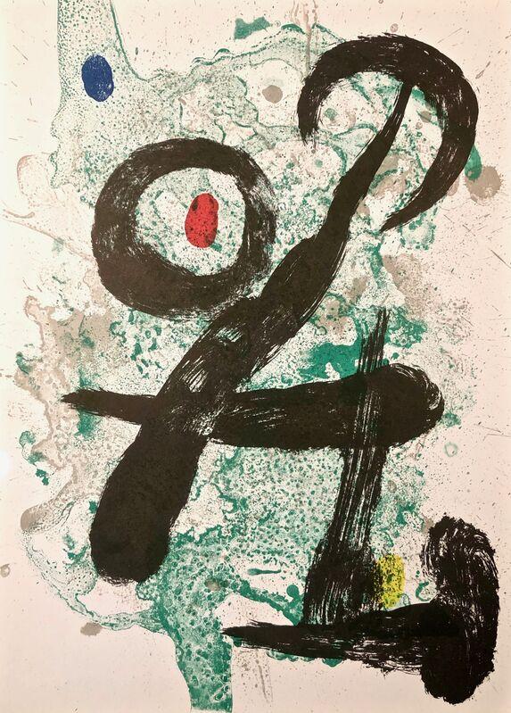Joan Miró, 'The Faun', 1963, Print, Original Lithograph, Inviere Gallery