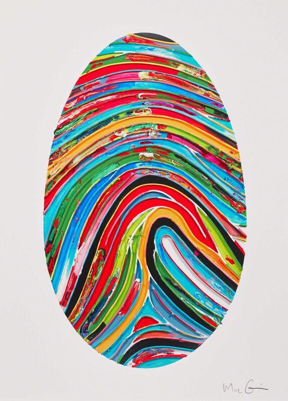 Marc Quinn, 'Prismatic Labyrinth (354 U)', 2018, Print, Digital print with screen-printed spot glaze, Manifold Editions