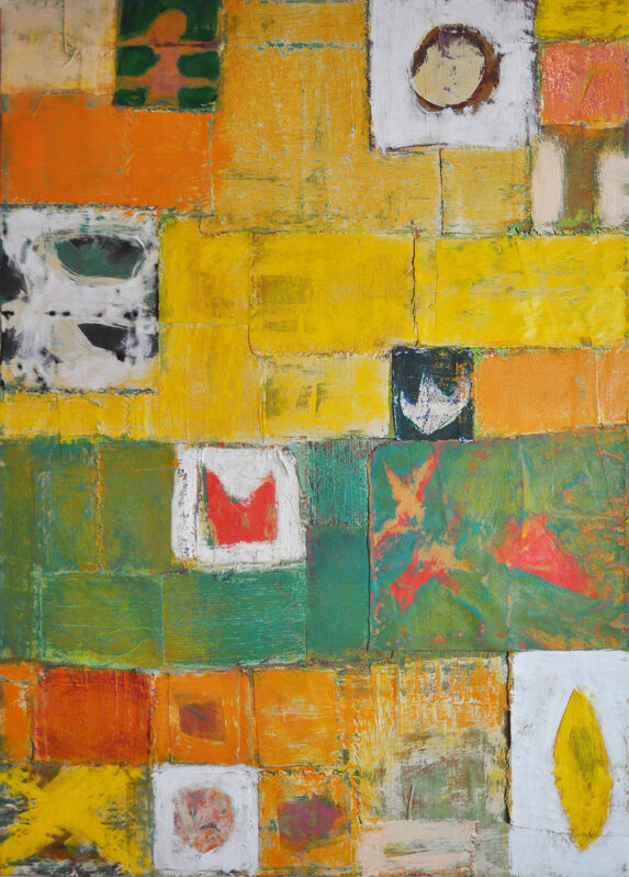 Kesha Bruce, 'The Story Teller's Dream', 2020, Painting, Mixed media on canvas, Morton Fine Art