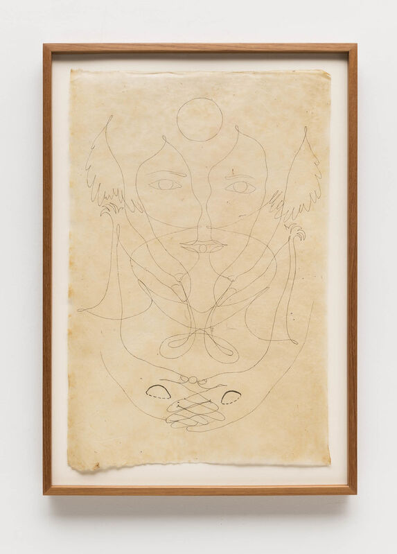 Tunga, 'Untitled (from the From La Voie Humide series)', 2000's, Drawing, Collage or other Work on Paper, Colored pencils on Himalayan paper, Bergamin & Gomide
