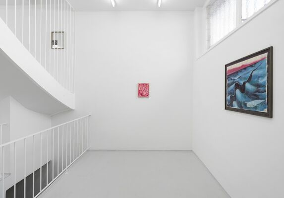 Michael Pfrommer, installation view