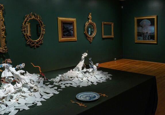 Bouke de Vries / MATRIX 180 War and Pieces, installation view