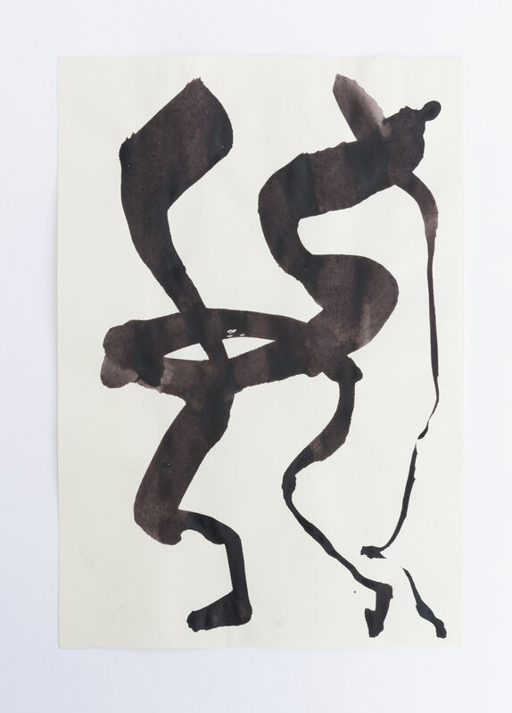 Amanda Millet-Sorsa, 'Movements in Fall', 2020, Drawing, Collage or other Work on Paper, Oak gall, honey, gum arabica, iron rust water ink on paper, SHIM Art Network