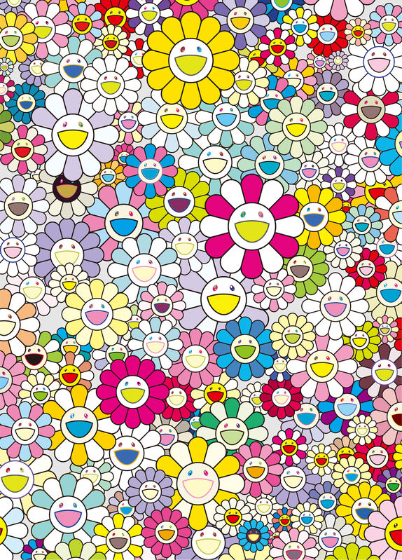 Takashi Murakami, 'An Homage to Yves Klein', 2012, Print, Offset lithograph, Gallery Red