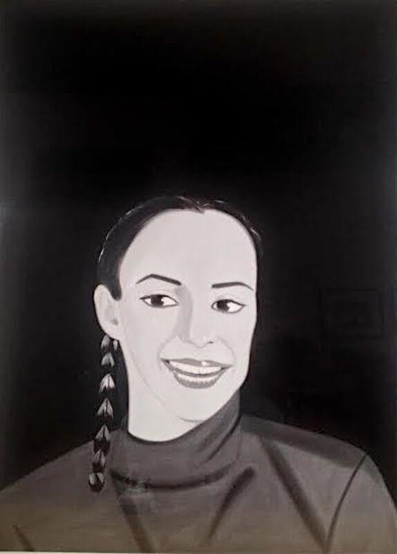 Alex Katz, 'Belinda', 2017, Print, Archival pigment inks on crane Museo Max 365 gsm paper, Vertu Fine Art