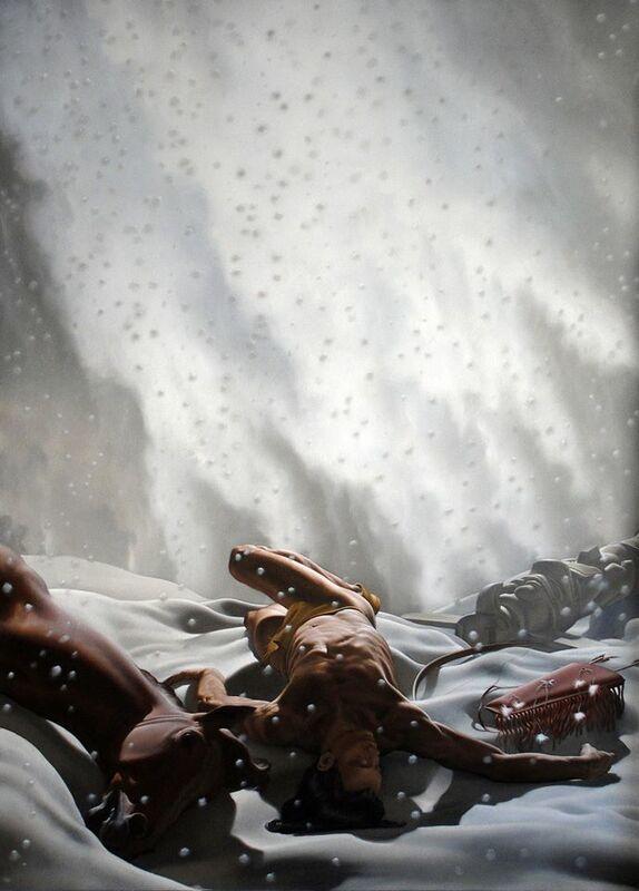 Nicola Verlato, 'Snow', 2014, Painting, Oil on canvas, Altro Mondo