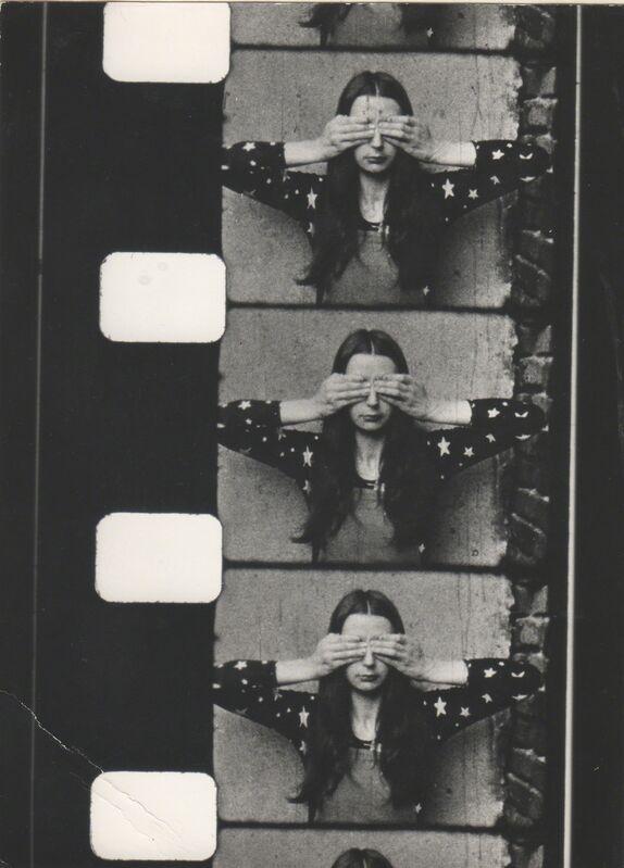 Ewa Partum, 'Tautological Cinema', 1973-1974, Video/Film/Animation, Single-channel video, 4:12 min, Galerie M+R Fricke