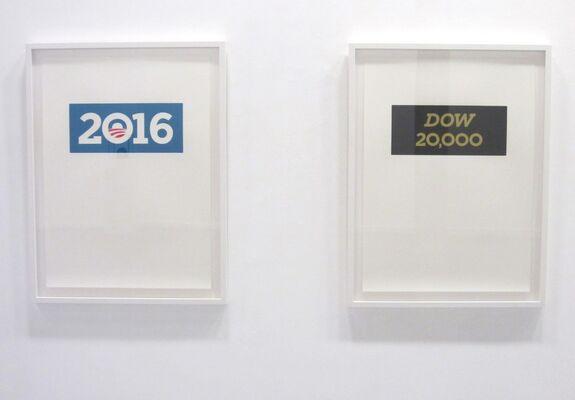 T. M. MacLowe: 2016 / 20,000, installation view