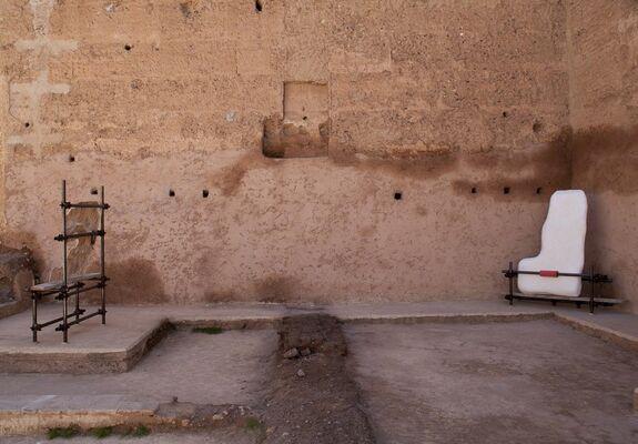 Jumana Manna at Marrakech Biennale, installation view