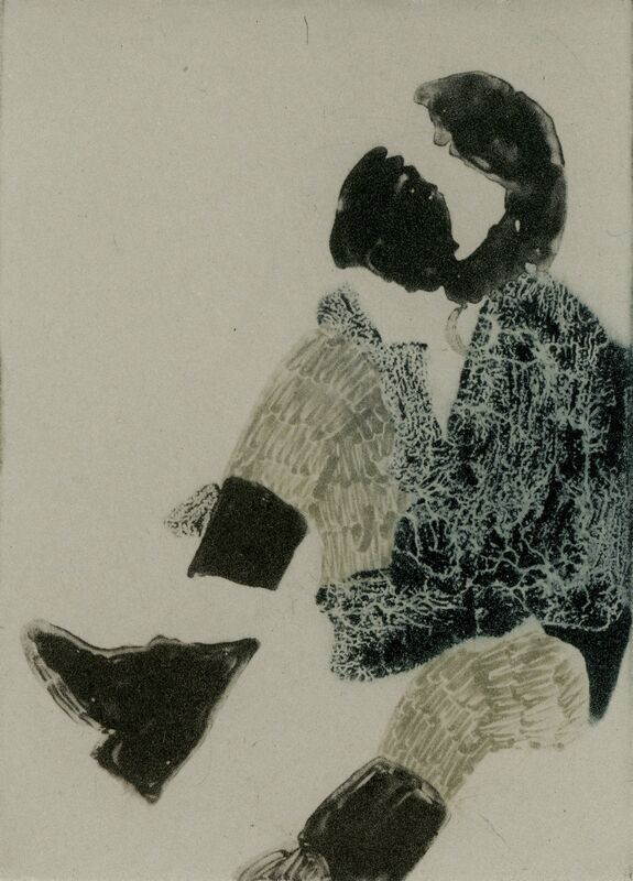 Elin Rodseth, 'Passersby 5', 2013, Print, Photopolymer print on paper, Owen James Gallery