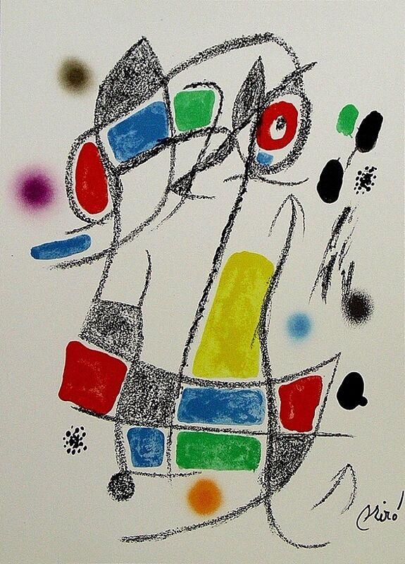 Joan Miró, 'Maravillas con variaciones acrósticas en el jardín de Miró I', 1975, Print, Lithograph on Gvarro paper, ARTETRAMA