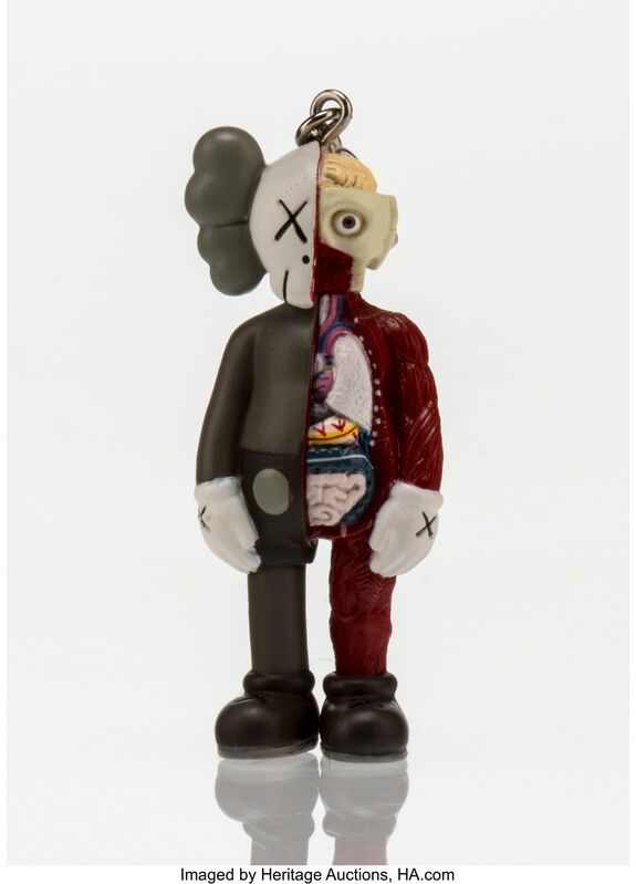 KAWS, 'Dissected Companion Keychain', 2009, Other, Painted cast vinyl, Heritage Auctions