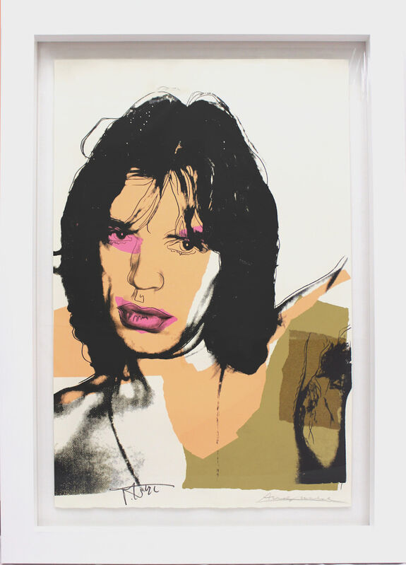 Andy Warhol, 'Mick Jagger (FS II.141)', 1975, Print, Screenprint on Arches Aquarelle (rough) Paper, Revolver Gallery