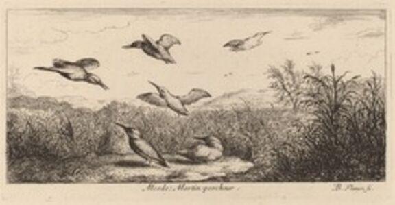 Albert Flamen, 'Alcedo, The Kingfisher'